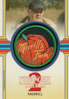 Merrill Commemorative Patch Card CP-MM 2019 Stranger Things Season 2