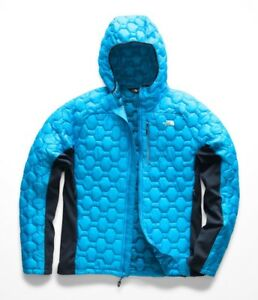 b4392d784 Details about The North Face Men's IMPENDOR THERMOBALL HYBRID HOODIE  Insulated Jacket Blue M