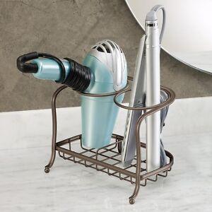 ... Hair Dryer Rack Holder Hairbrush Stand Storage Counter