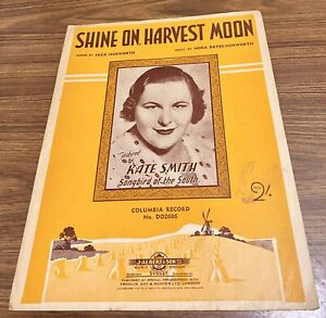 Vintage-1908-SHINE-ON-HARVEST-MOON-Featured-by-Kate-Smith
