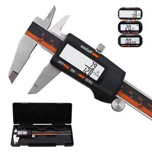 Affichage-Numerique-etrier-en-acier-inoxydable-LCD-Vernier-caliper-150-mm-Outil-de-mesure