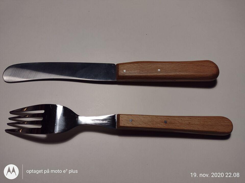 Bestik, RÖR pukkelkniv og gaffel, RÖR pukkelkniv og gaffel