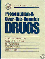 Prescription And Over-the-counter Drugs By Reader's Digest Editors (1998,...