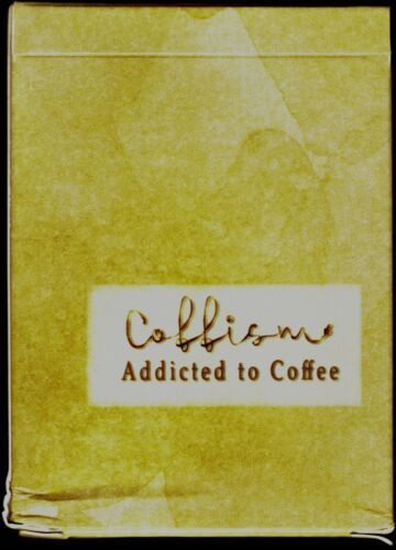 New Addicted to Coffee Playing Cards Limited to Under 500 Coffism