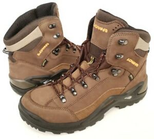c291d08df02 Details about LOWA Renegade GTX Mid Men's Hiking Boots Sepia/Brown Wide -  Used; Lightly Worn