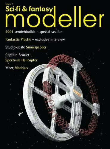Sci-Fi /& Fantasy Modeller Volume 7-2001 odyssey Captain Scarlet Star Wars