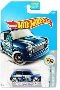 2017 Hot Wheels 137 Hw Snow Stormers Morris Mini Ebay