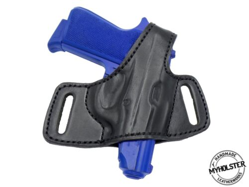 OWB Thumb Break Compact Style Leather Holster Fits Thunder 380 CC
