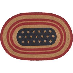 Primitive-Americana-Stenciled-Stars-Braided-Jute-12-034-x-18-034-Placemat