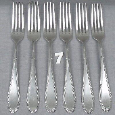WMF 2700-3 Tafelgabeln 20,4 cm 90er Silber Gabeln ca Menügabeln