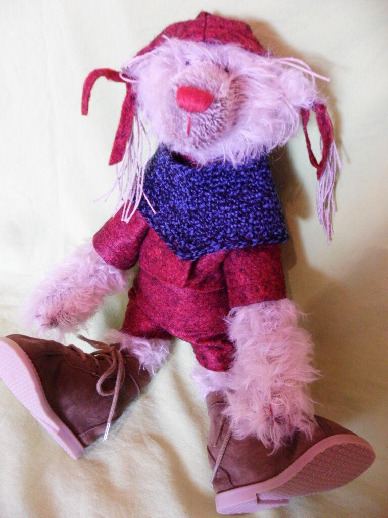 Künstlerteddy Teddybär Bär Bear SIGRUN Zwergnase N. Marschollek Menzner 35cm