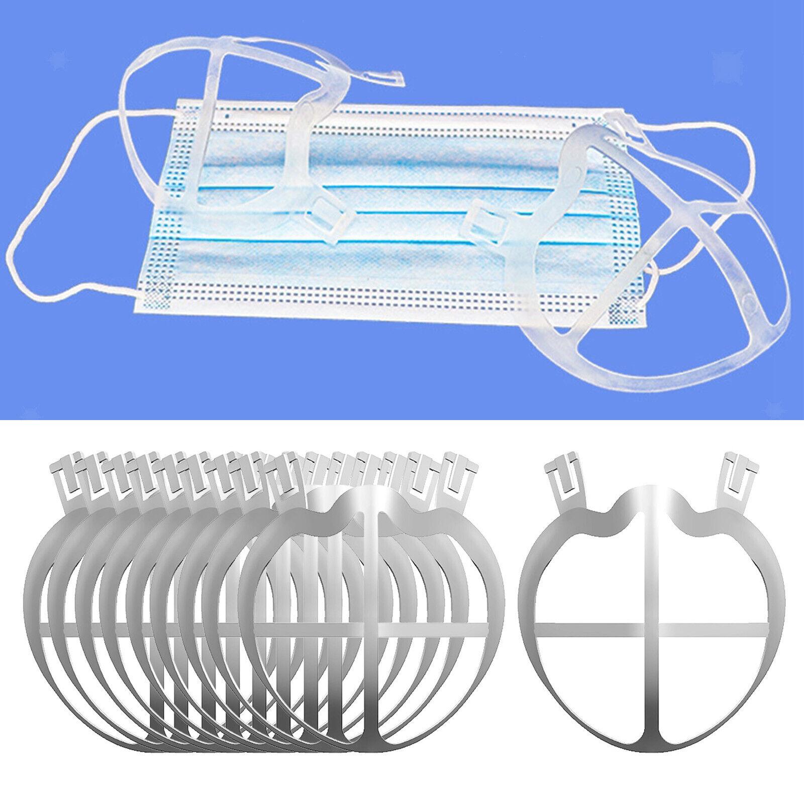10Pcs Face Mask Bracket 3D Protect Lipstick Internal Rack Frame Accessories