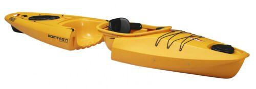 Kajaks Kajak Tourenkajak Top Transportabel da zerlegbar in gelb Point65 Martini Einer Bootsport