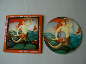 THE-GOLD-NEEDLES-THE-CATS-NEVER-SLEEP-promo-CD-Fruits-de-Mer-Friends-Of-The-Fish