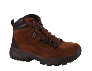 Skechers Hombre Trabajo Relaxed Fit Vostok LOUGHOR Bota Impermeable 77185 Brn