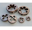 1pc Metric Right Hand Die M15 X 2mm Dies Threading Tools 15mm X 2.0mm pitch