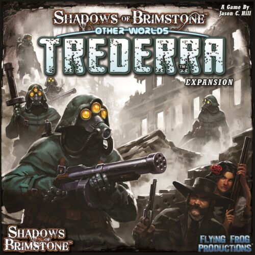 Gesellschaftsspiele Shadows of Brimstone Trederra Deluxe • OtherWorld Expansion