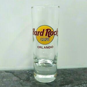Orlando-USA-HRC-Hard-Rock-Cafe-Shot-Glass-Classic-Logo-Red-Letter-4-039-039