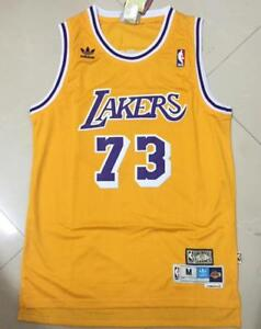 Image is loading Los-Angeles-Lakers-73-Dennis-Keith-Rodman-Gold- 776c88df1