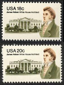 #1935 & 1936 18c&20c James Hoban ,Nuevo Cualquier 5=