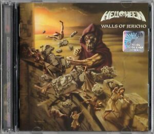 HELLOWEEN-Walls-Of-Jericho-MALAYSIA-FLAG-EXPANDED-EDITION-2-CD-NEW-FREE-SHIPMENT