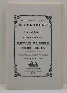 REPRINT of the 1857 Arrowmammett Works Co. Illustrated Catalog (INV J604)