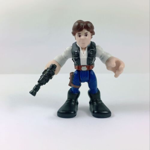 Playskool Star Wars Galactic Heroes Jedi Force Han Solo and Chewbacca