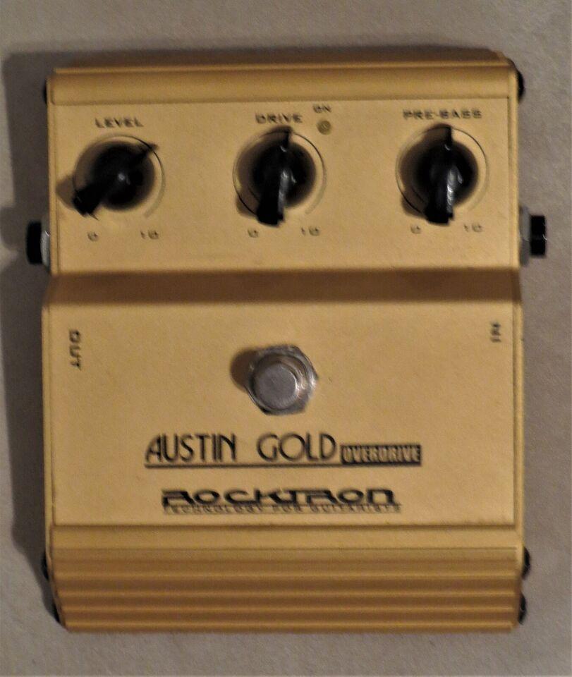 Guitarpedaler, Rocktron Austin Gold Overdrive.