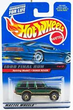 Hot Wheels 1999 Final Run Retired Range Rover #1 New On Card