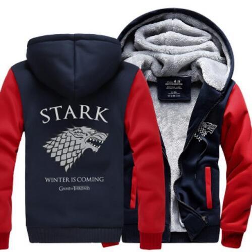 House Stark Winter is Coming Fleece Hoodie