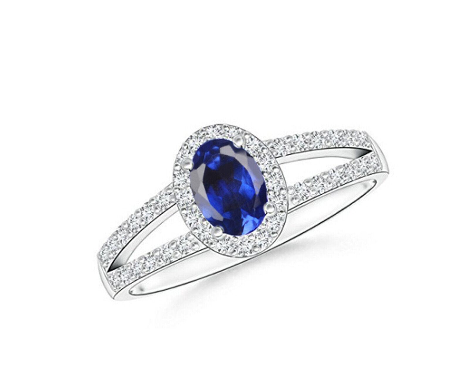 f7590993169e 14KT White gold 1.75Ct Natural blueee EGL Certified Wedding Ring Tanzanite  Diamond nutsma9081-Diamond
