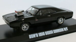 Greenlight-1-43-Fast-amp-Furious-Dom-039-s-1970-Dodge-Charger-R-T-Modello-Diecast-Auto