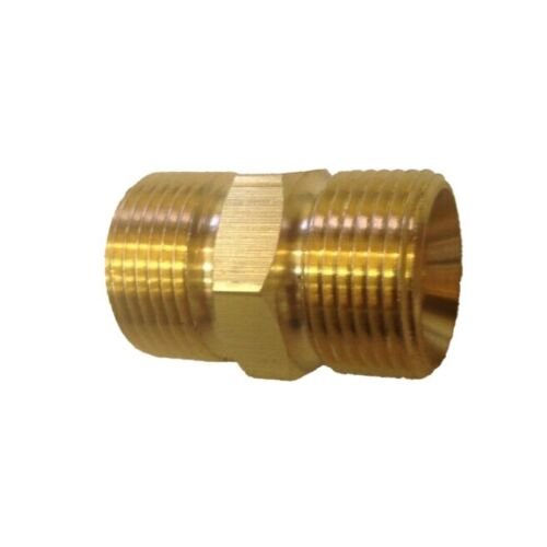 M22//15mm To Male Adapter Connector Power Pressure Washer Hose Outlet For Karcher