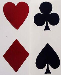 8 card suit symbols heart spade club diamond 1 1 4 waterslide