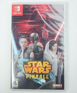 NEW-Star-Wars-Pinball-Nintendo-Switch-2019-Brand-New-Factory-Sealed