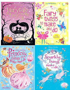 Usborne-Things-to-Make-and-Do-Girl-039-s-Collection-4-Book-Set-Pack-RRP-19-96-NEW
