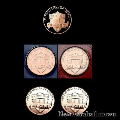 2017 P+D Lincoln Shield Penny Mint Set ~ PD in Mint Wrappers ~ No S Proof