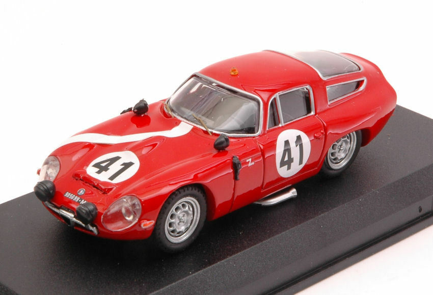 Alfa Romeo Tz1  41 15th Lm 1964 G. Biscaldi   G. Sala 1 43 Model BEST MODELS
