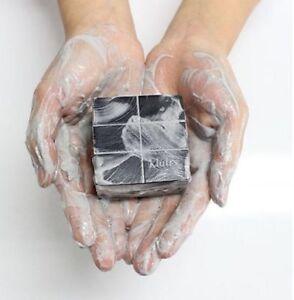 KLAIRS-Gentle-Black-Sugar-Charcoal-Soap-Blackhead-Soap-Blackhead-remover