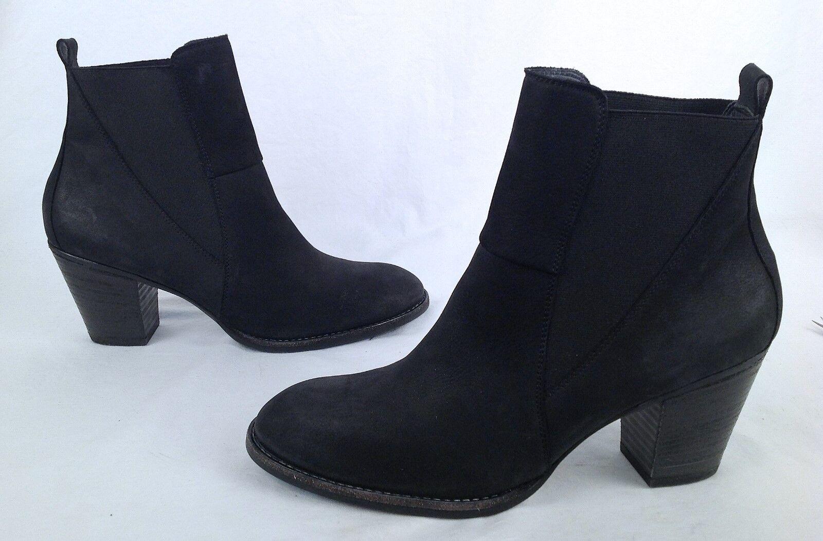 NEW   Paul Green 'Jules' Black Nubuck Bootie-Size US 10  7.5 EU  (P10)
