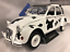 1985-Citroen-2CV6-Vache-Blanc-Noir-1-18-Echelle-Solido-1850028 miniature 1