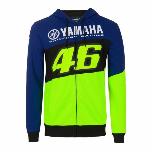 Yamaha Factory Racing Rossi Hoodie Large S - 2XL