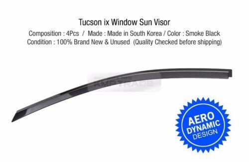 Out-Channel Vent Shade Window Visors Rain Guards for HYUNDAI 2010-15 Tucson ix