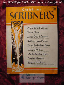 SCRIBNER-039-S-December-1933-STUART-CHASE-JAMES-G-COZZENS