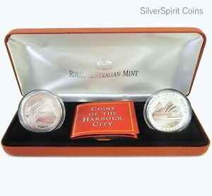 1997-10-LANDMARK-HARBOUR-CITY-SYDNEY-Silver-Coin-Set