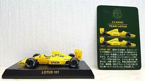 1-64-Kyosho-F1-LOTUS-101-11-PIQUET-diecast-car-model