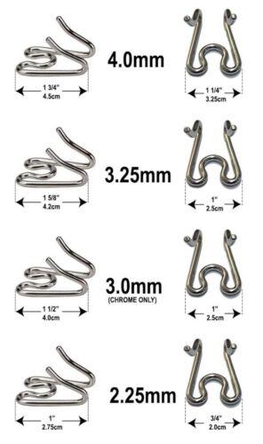 Package of 2 Herm Sprenger Chrome steel prong pinch Dog collar links