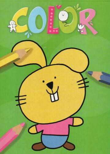 Osterhase Wolke und viele andere #085 Malbuch für Kinder Color Löwe Mond