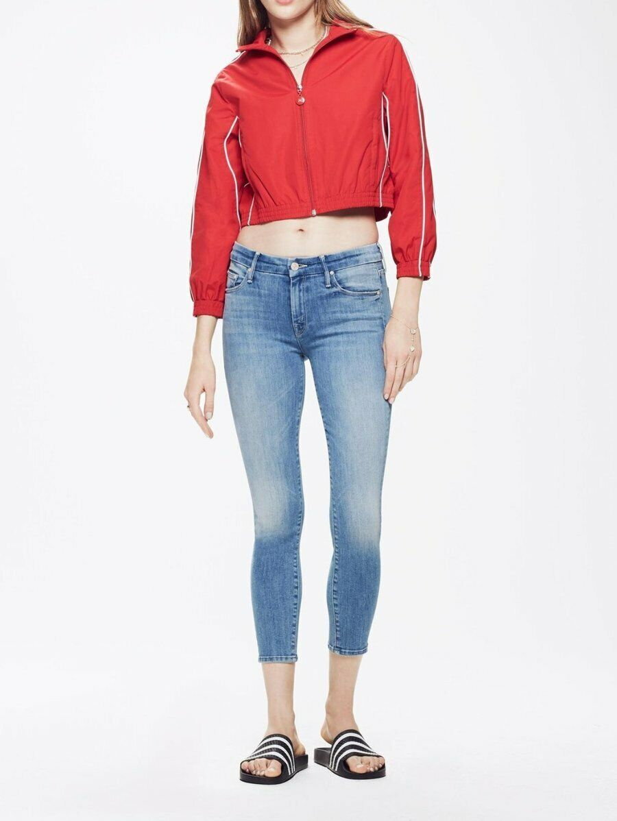 NWT Mother Denim The Looker Crop Well Played Size 24, 26, 27  228