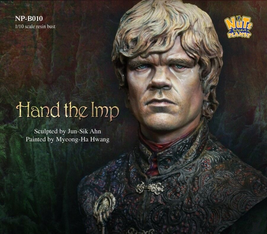 Nutsplanet Hand the Imp Fantasy Model Unpainted 1 10th scale bust kit